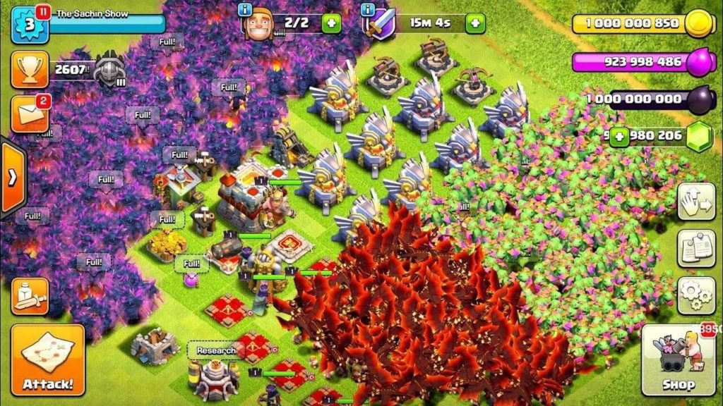 Clash of Clans MOD Gameplay